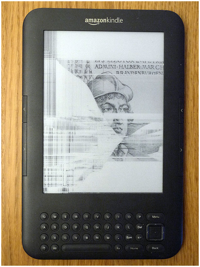 Basic Kindle frozen / stuck on home screen  -